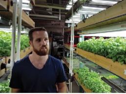 Verticulture Aquaponic farming Miles Cretien