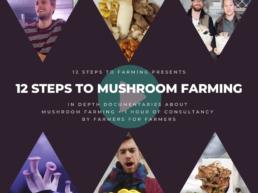 12 steps to mushroom farming
