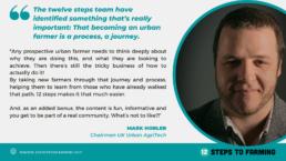 Mark Horler 12 steps to farming