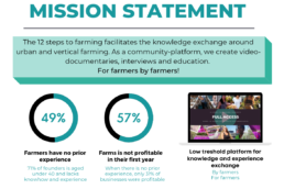 12 steps to farming mission statement