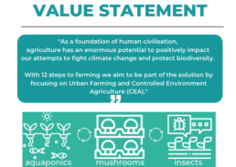 12 steps to farming value statement